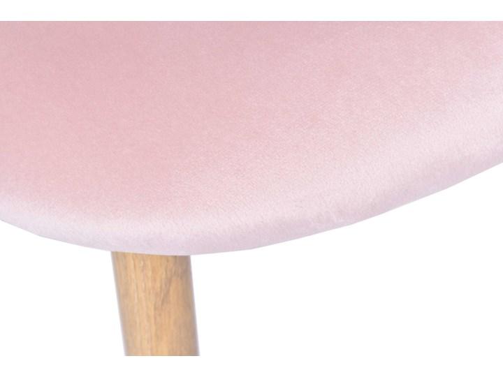 Krzesło aksamitne K-JAZZ VELVET różowe Tworzywo sztuczne Głębokość 42 cm Drewno Szerokość 48 cm Tapicerowane Głębokość 48 cm Wysokość 33 cm Wysokość 78 cm Metal Tkanina Szerokość 49 cm Kolor Różowy Welur Wysokość 79 cm Kategoria Krzesła kuchenne