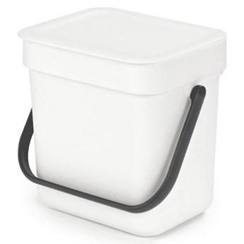 Kosz kuchenny na odpadki 3l Sort  Go biały  kod: 209864