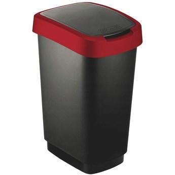 Kosz kuchenny na śmieci 50l Twist czerwony kod: 40R-KOS-17545_02255