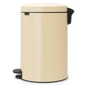 Kosz na śmieci kuchenny pedałowy 20l NewIcon Brabantia migdałowy kod: BR 11-39-01