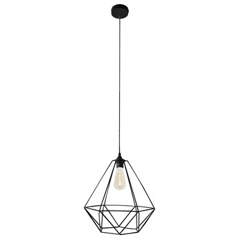 Lampa wisząca druciana KARO LARGE W-KM 1322/1 BK-B