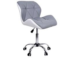 Krzesło biurowe obrotowe MORIS biało-szare