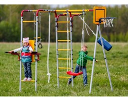 Plac zabaw dla dziecka do ogrodu Fitness