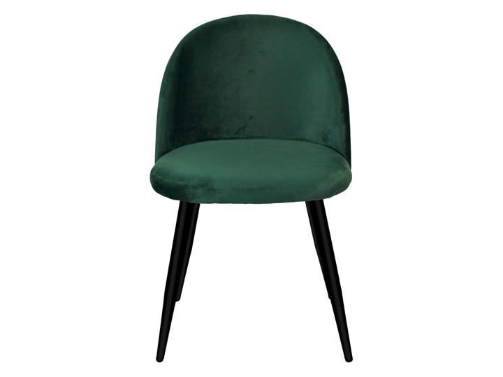 Krzesło tapicerowane Soul Velvet zielone Welur Wysokość 48 cm Metal Głębokość 42 cm Wysokość 41 cm Krzesło inspirowane Wysokość 79 cm Szerokość 49 cm Głębokość 48 cm Tkanina Wysokość 33 cm Tworzywo sztuczne Wysokość 78 cm Szerokość 48 cm Wysokość 47 cm Styl Nowoczesny