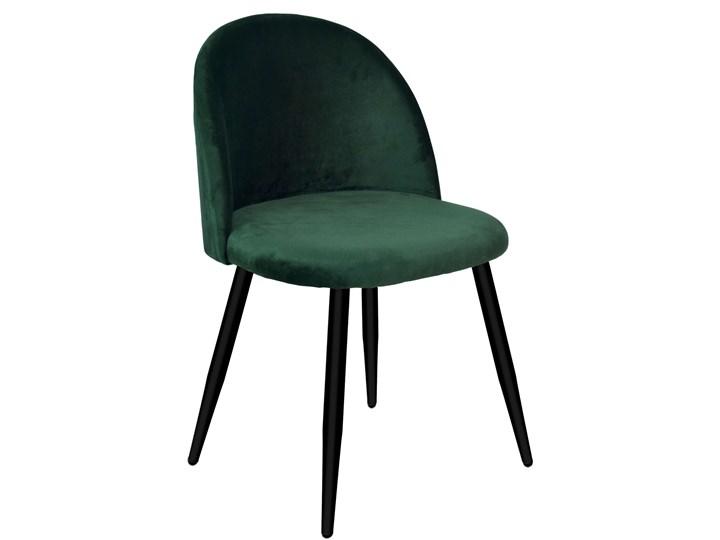 Krzesło tapicerowane Soul Velvet zielone