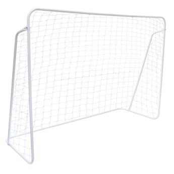 Bramka piłkarska 213x152 cm biała