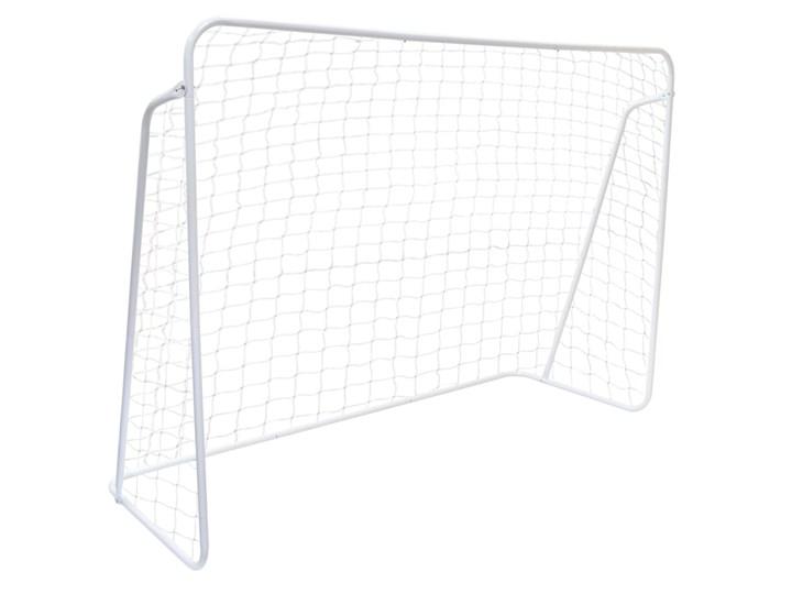 Bramka piłkarska 213x152 cm biała Bramki