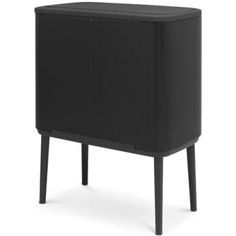 Kosz na śmieci kuchenny 3x11l Bo Touch Bin 3 komory czarny mat kod: BR 31-60-67