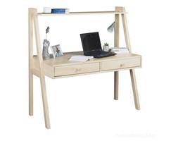 Biurko Shelf drewniane z półką