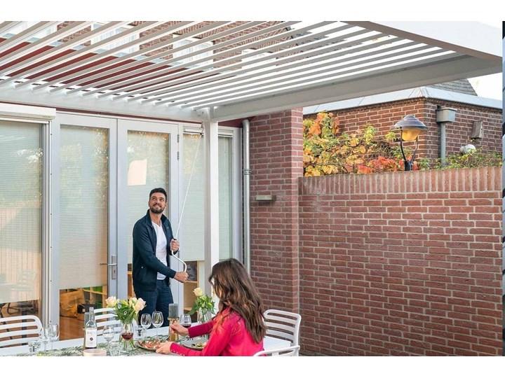 Zadaszenie tarasowe PERARA 300x300cm białe Daszki Kategoria Pozostała architektura ogrodowa