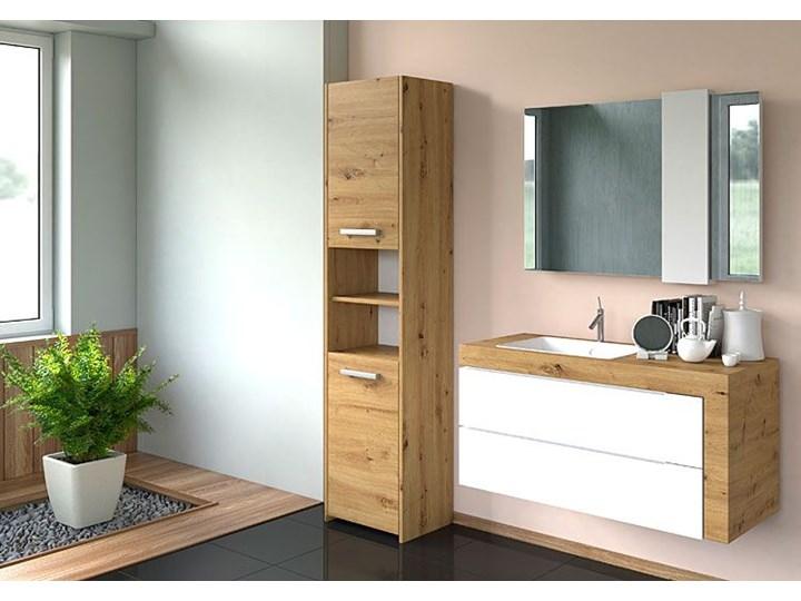 Szafka łazienkowa Tosca 3X - dąb artisan Drewno Szafki Stojące Kategoria Szafki stojące Rodzaj frontu Drzwiczki