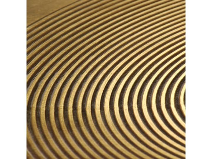 vidaXL Zestaw 2 stolików, płyta MDF pokryta mosiądzem Zestaw stolików Metal Stal Kategoria Stoliki i ławy