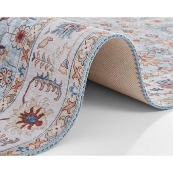 Niebiesko-beżowy dywan Nouristan Vivana, 160x230 cm