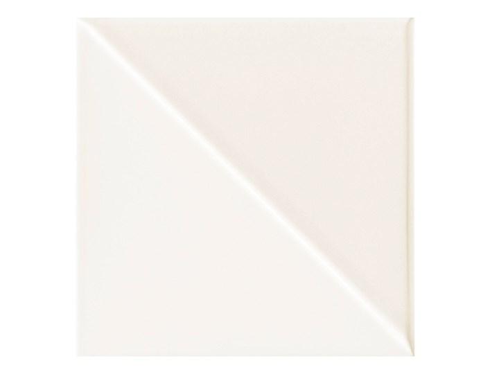 Glazura Finestra Arte 14,8 x 14,8 cm biała 0,7 m2 Listwa dekoracyjna Płytki ścienne 14,8x14,8 cm Prostokąt Kolor Biały