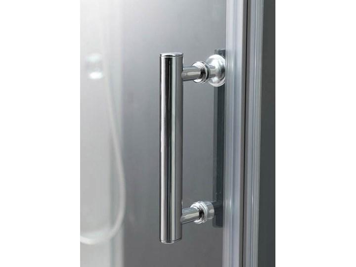 Kabina prysznicowa z hydromasażem Onega 80 x 120 cm asymetryczna niski brodzik Wysokość 225 cm Niestandardowa Prostokątna Rodzaj drzwi Rozsuwane