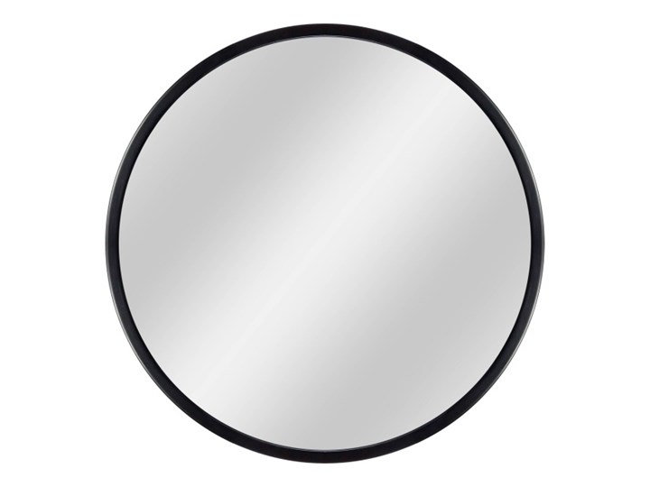 Lustro okrągłe Dubiel Vitrum Ring 2 70 cm w ramie czarne