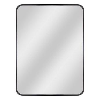 Lustro prostokątne Dubiel Vitrum Nico 60 x 80 cm w ramie czarne
