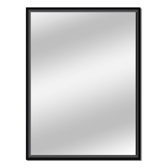 Lustro prostokątne Dubiel Vitrum Profix 60 x 80 cm w ramie czarne