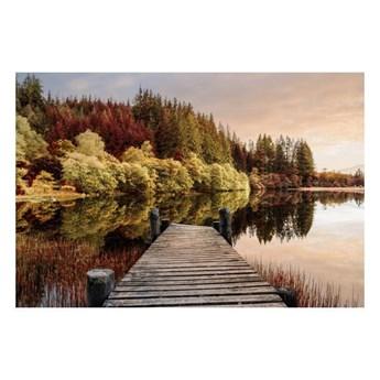 Obraz Glasspik Autumn Path 80 x 120 cm