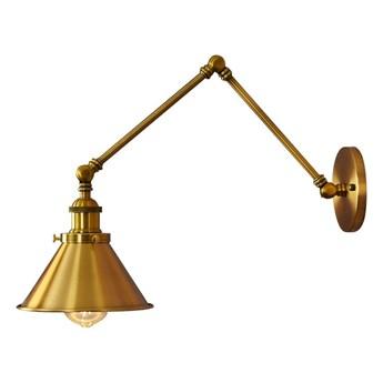 LAMPA ŚCIENNA KINKIET LOFTOWY MOSIĘŻNY GUBI W2