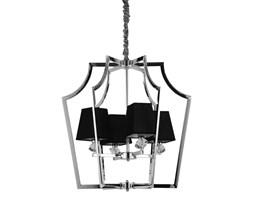Lampy wiszące z abażurem z czterema źródłami światła