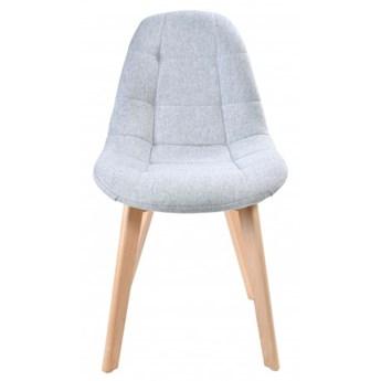 Krzesło pikowane K-Austin dsw jasno-szary
