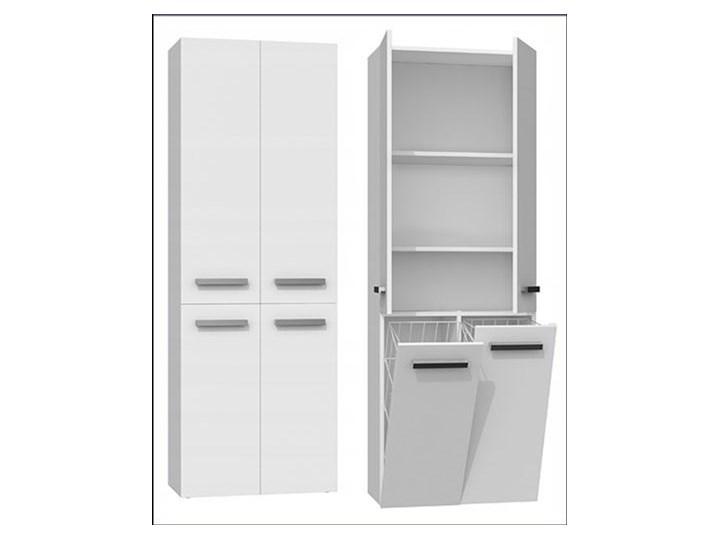 Szafka łazienkowa Malmo 4X - biała Stojące Szafki Szerokość 60 cm Wysokość 174 cm Kategoria Szafki stojące