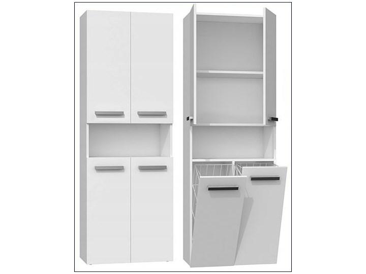 Szafka łazienkowa Malmo 5X - biała Kategoria Szafki stojące Szafki Stojące Kolor Biały