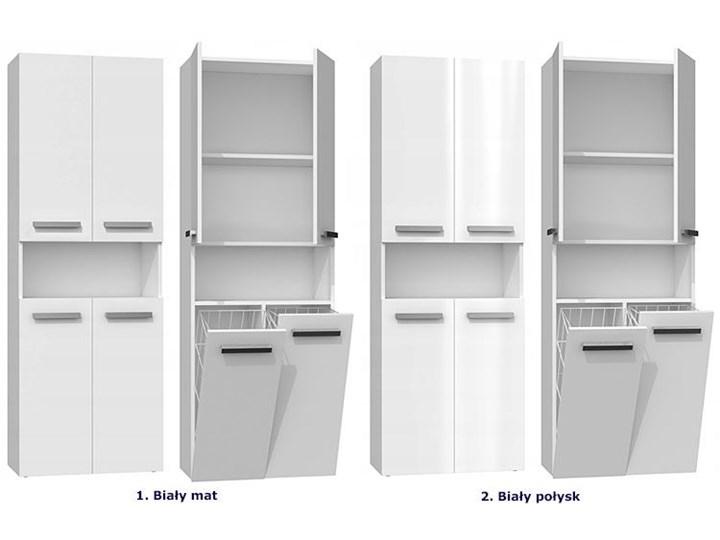Szafka łazienkowa Malmo 5X - biała Szafki Stojące Kolor Biały Kategoria Szafki stojące