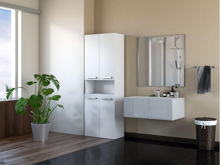 Szafka łazienkowa Malmo 5X - biała Stojące Szafki Kategoria Szafki stojące