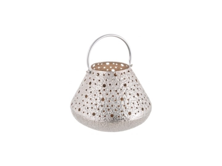 LATARENKA ENEA Metal Aluminium Lampion Kategoria Świeczniki i świece
