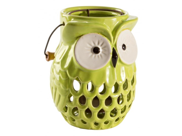 ŚWIECZNIK OWL Drewno Metal Ceramika Kategoria Świeczniki i świece