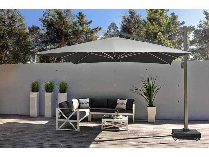 Parasol ogrodowy Icon 3,5m x 3,5m Parasole Kolor Szary