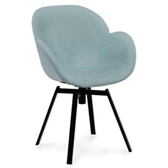 Krzesło Malmo tapicerowane miętowe