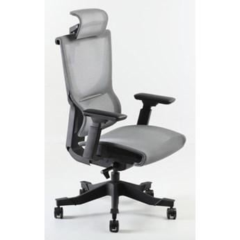 Fotel Hamar czarno-szary