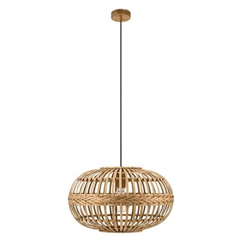 Lampa wisząca Amsfield Bambus E27 Eglo