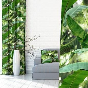 Zasłony Liście 3D Tropikalne 390334_101