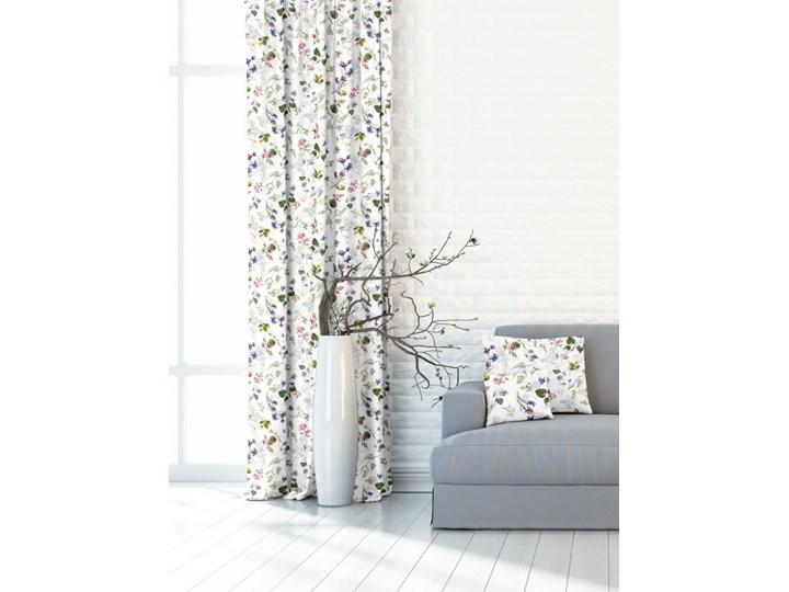 Zasłona w piękne kwiaty łąki 391261_101 Kolor Szary