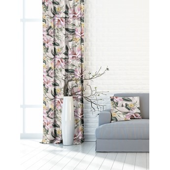 Zasłona Gotowa Magnolie róż 390928-002