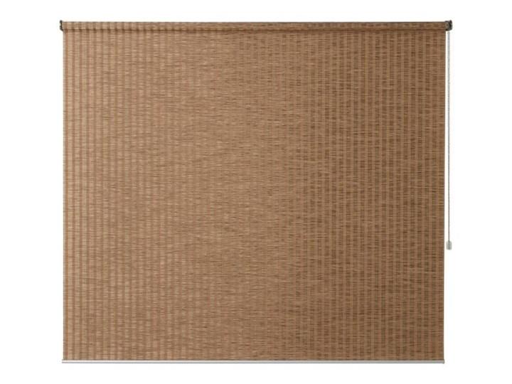 Roleta Colours Kimi 157 x 180 cm beżowa Roleta bambusowa Roleta wolnowisząca Kolor Brązowy