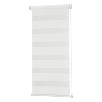 Roleta dzień/noc Colours Elin 86,5 x 140 cm biała