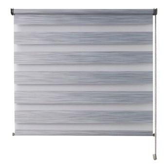 Roleta dzień/noc Colours Kala 86,5 x 180 cm szara