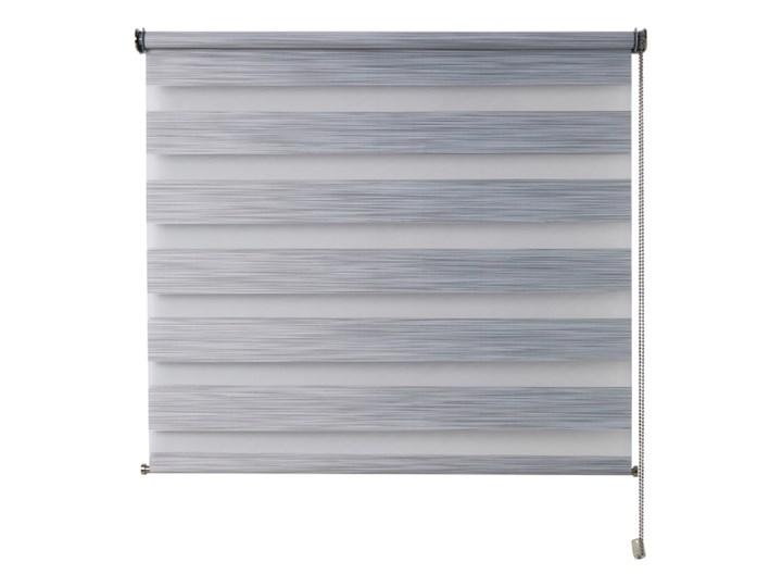 Roleta dzień/noc Colours Kala 96,5 x 180 cm szara Pomieszczenie Salon