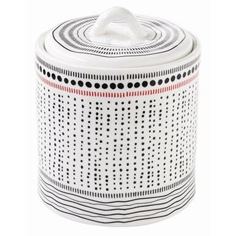 Pojemnik kuchenny porcelanowy z pokrywą 13cm Nuova R2S Organic kod: 1829 ORGN