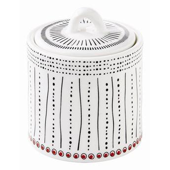 Pojemnik kuchenny porcelanowy z pokrywą na przyprawy Nuova R2S Organic kod: 1828 ORGN