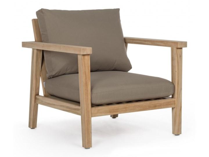 FOTEL XIMENA Drewno Kategoria Fotele ogrodowe Rozkładane Kolor Beżowy
