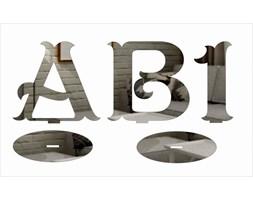 litery stojące 3D z lustra