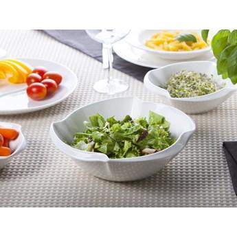 "Salaterka / miseczka ""ścięty kwadrat"" porcelana Altom Design Regular 24 cm"