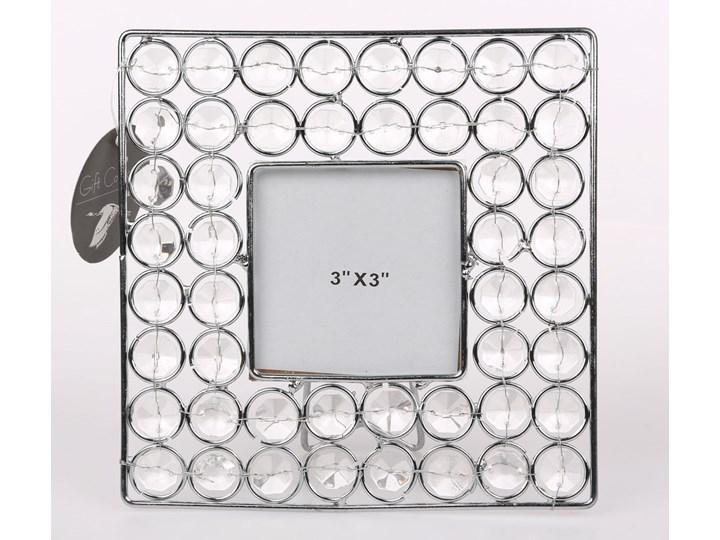 Ramka na zdjęcie z kryształkami kwadratowa Altom Design 16,5 cm Ramka na zdjęcia Kategoria Ramy i ramki na zdjęcia