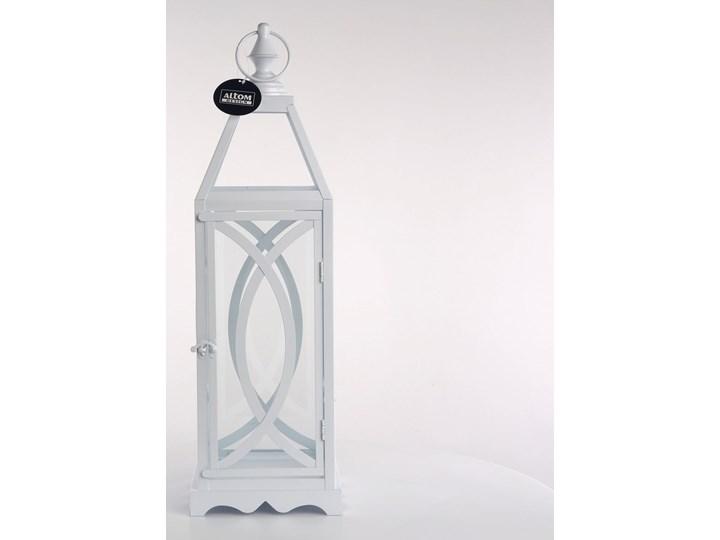 Latarenka / latarnia/ lampion ozdobny wiszący Altom Design metalowy Kategoria Świeczniki i świece